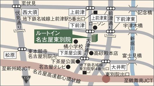 酒店附近地图