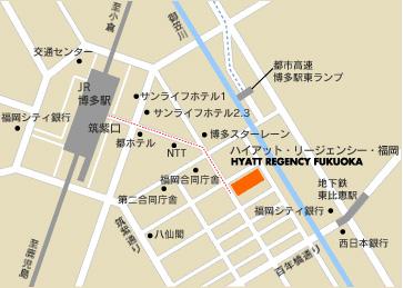 福冈博多地图
