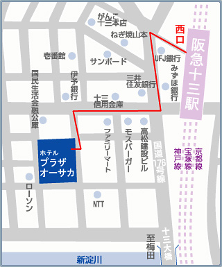 新大阪地图